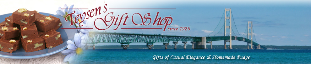 Teysen's Gift Shop, Mackinaw City, Michigan gifts and fudge